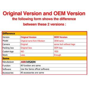 Image 2 - Hikvision OEM IP kamera DT185 I (OEM DS 2CD2185FWD I) 8MP ağ Dome POE IP kamera H.265 güvenlik kamerası SD kart yuvası