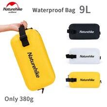 Naturehike 1 Pcs 9L Wet And Dry Separation Waterproof Swimming Bag Business Travel Portable Men Women Washing Makeup Storage Bag
