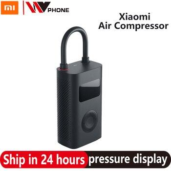 Xiaomi Mijia Portable pompe électrique compresseur d'air intelligent numérique pneu capteur Mi gonflable trésor pour moto voiture football