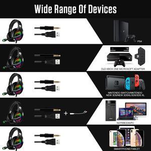 Image 5 - A20 PS4หูฟัง4DสเตอริโอRGB Marqueeหูฟังชุดหูฟังพร้อมไมโครโฟนสำหรับXbox One/แล็ปท็อป/คอมพิวเตอร์แท็บเล็ตGamer