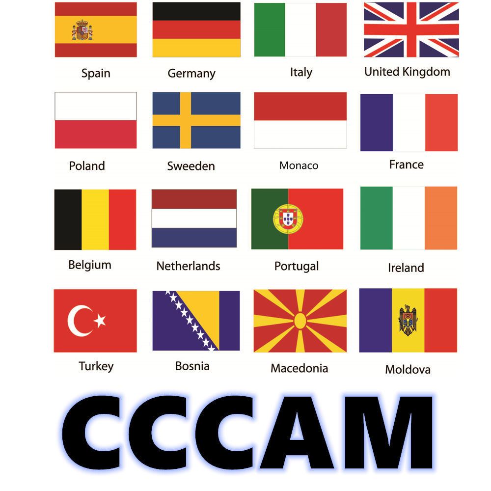 Buyer Feedba Cccam 6/7/8 Full HD Lines 1Year Cccam Cline For Europe 7 IPTV Lines Use For TV Satellite Receiver DVB -S2 Server Hd