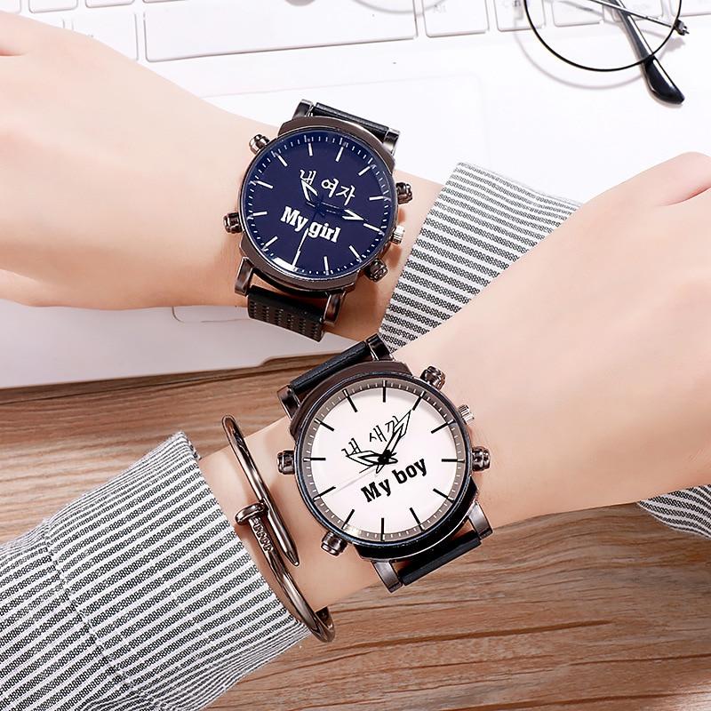 Couple Watches Men Women Casual Silicone Sports Quartz Watch Women's Dress Lover Watch Boy Girls Clock Gifts Relogios Femininos