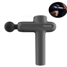 Yunmai Muscle Massage Gun Sport Therapy Massager Body Relaxation Pain Relief Slimming Shaping Massager 4 Heads With Bag