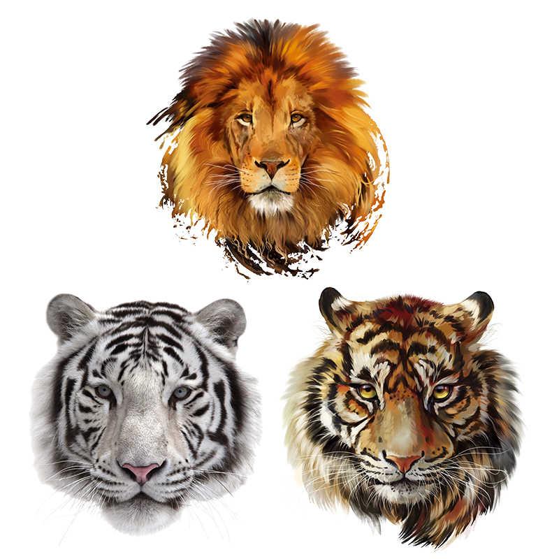 Lion King แพทช์เป็นมิตรกับสิ่งแวดล้อมล้างทำความสะอาดได้ Parches DIY ใช้งานง่ายสติกเกอร์ระดับที่กำหนดเองแพทช์ความร้อน Appliqued