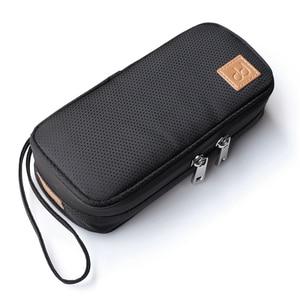 Image 1 - DD C 2019 contenitore portatile della borsa di stoccaggio per FIIO M11/FH7/BTR3/F9 PRO SHANLING UP2/M5S/MWS HIFI Music Player accessori per auricolari