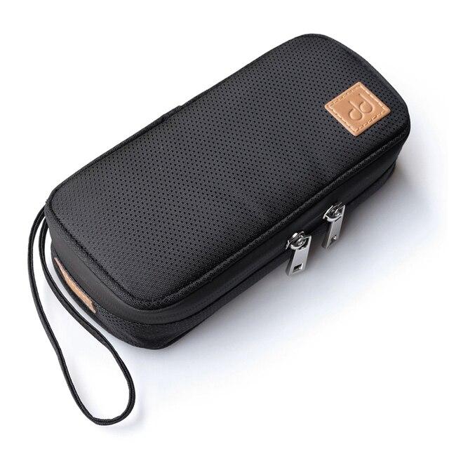 DD C 2019 contenitore portatile della borsa di stoccaggio per FIIO M11/FH7/BTR3/F9 PRO SHANLING UP2/M5S/MWS HIFI Music Player accessori per auricolari