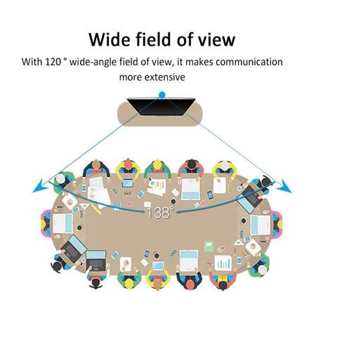 novo utral completa 4k camera de videoconferencia