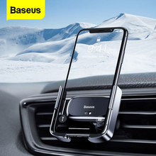 Baseus Mini Automatic Clamping Car Phone Holder for iPhone 1