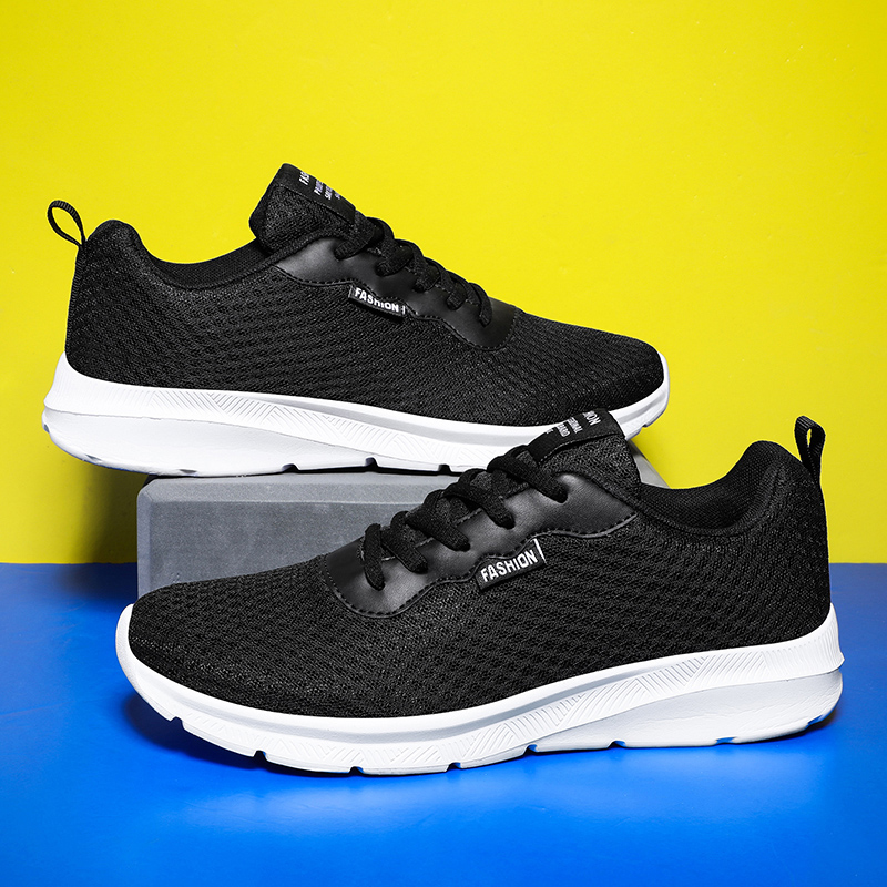 Leader Show 2020 Men Sport Shoes Air Mesh Rubber Man Running Sneakers Spring New Zapatillas Hombre Sneakers For Men Outdoor Soft