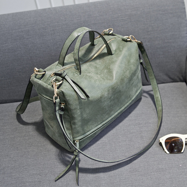 New Style 2019 Trendy Women's Bag European and American Fashion Frosted Lady Single Shoulder Slant Satchel.