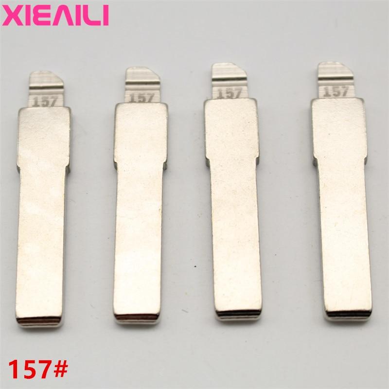 XIEAILI 20 шт./лот для 157 # металлическая заготовка необработанного откидного дистанционного ключа для Fiat SIP22 Blade S514