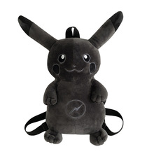 42cm Cute Cartoon Animal Monsters Lightning Dark PikaghNing Plush Toy Children Women Backpack Shoulder Bags Good Quality