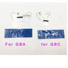 Para nintendo jogo boy colorido gbc frontal luz frontal, mod kit para gameboy advance gba