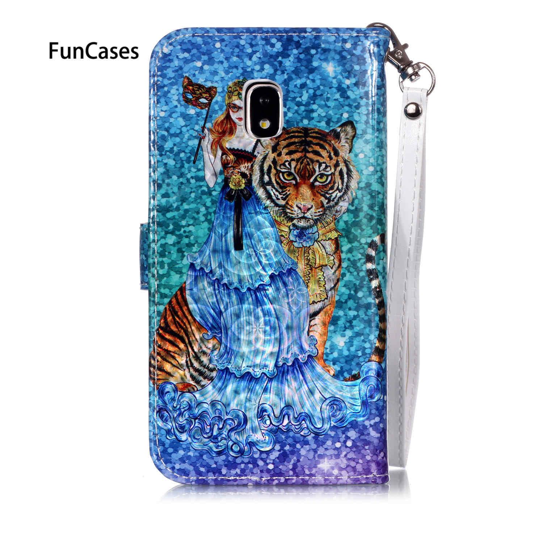 5 Card Slot Halter Fällen Für Samsung J3 2017 Eurasische Brieftasche Fall Galaxy J330 J5 Pro J4 Plus M10 J530 a10 M20 J2 Prime J6 M30