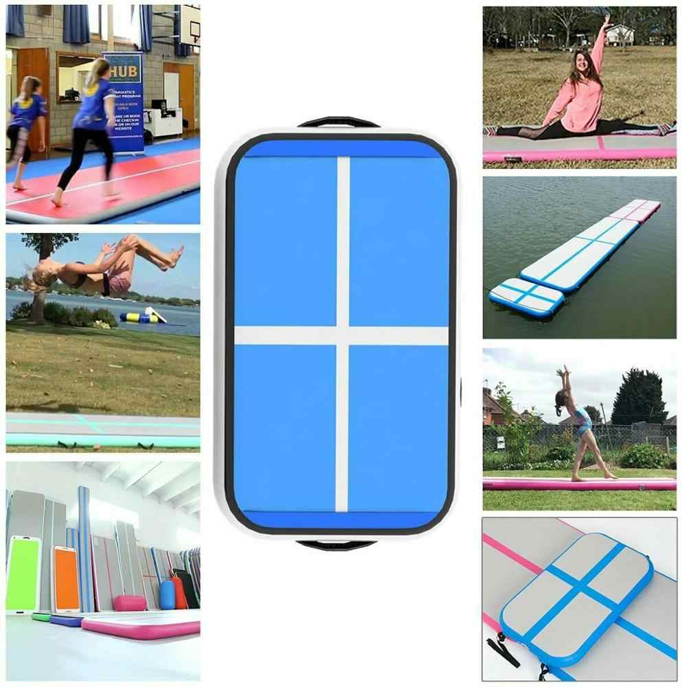Rimdoc 4m 5m 6m Gymnastics Mats Inflatable Air Track Yoga Mat Olympic Gymnastics Tumble Airtrack Gymnastics Air Floor for Kids