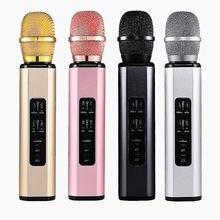 Микрофон для караоке мини ручной микрофон беспроводной bluetooth