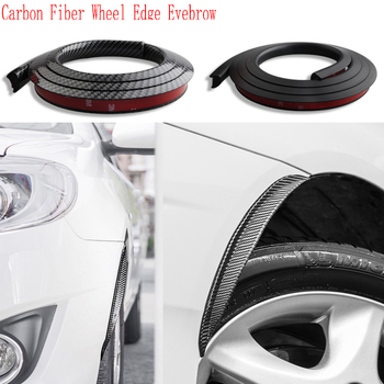 2pcs Carbon Fiber Car Fender Wheel Tire Edge Eyebrow For BMW E46 E39 E90 E60 E36 F30 F10 E34 X5 E53 E30 F20 E92 E87 M3 M4 M5 X3 image