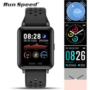 Image 1 - P29 Smart Uhr Männer Körper Temperatur Messung Herz Rate Fitness Tracker Smart Uhr Frauen GTS Smartwatch für Xiaomi