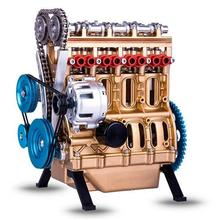 Engine Mechanical Model Ornaments Retro Human Industrial Technology Miniature  Engine Mounted Educational Gift Kids Toys