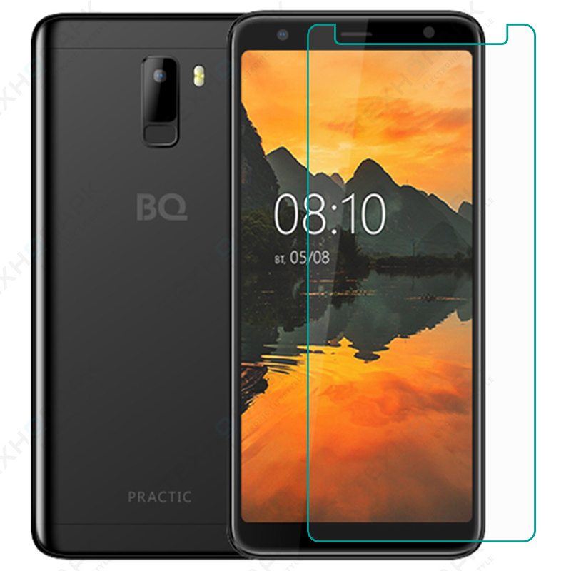 2PCS For BQ BQ-6010G Practic Tempered Glass Protective FOR BQ6010G Practic Screen Protector Glass Film Phone Case Cover