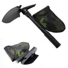 Military Portable Folding Beach Shovel Survival Spade Trowel  Camping Outdoor Tool недорого