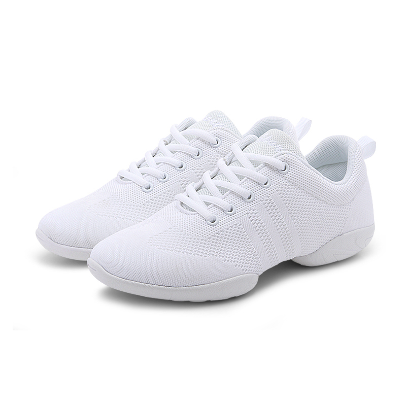 Competitive Aerobics Sports Shoes Woman Soft Bottom Cheerleading Sneakers Shoes Training Square Dance Shoes Fitness Women Shoes