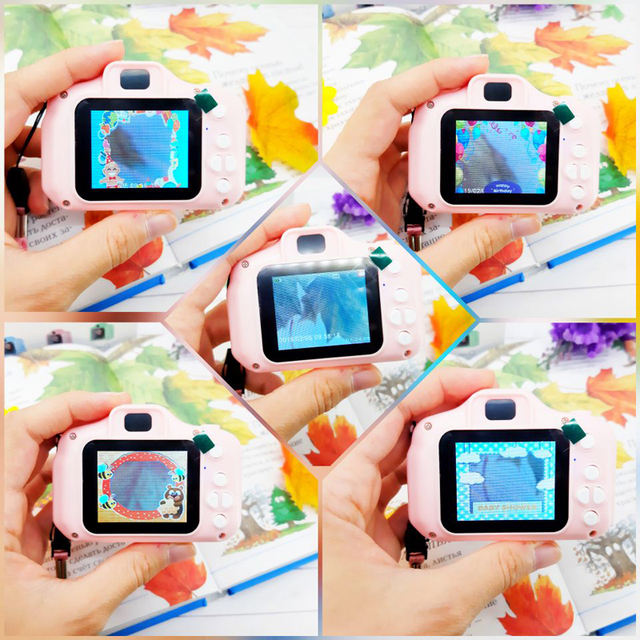 Rabbit Ear Electronic Digital Camera Toys for Kids Birthday Gifts