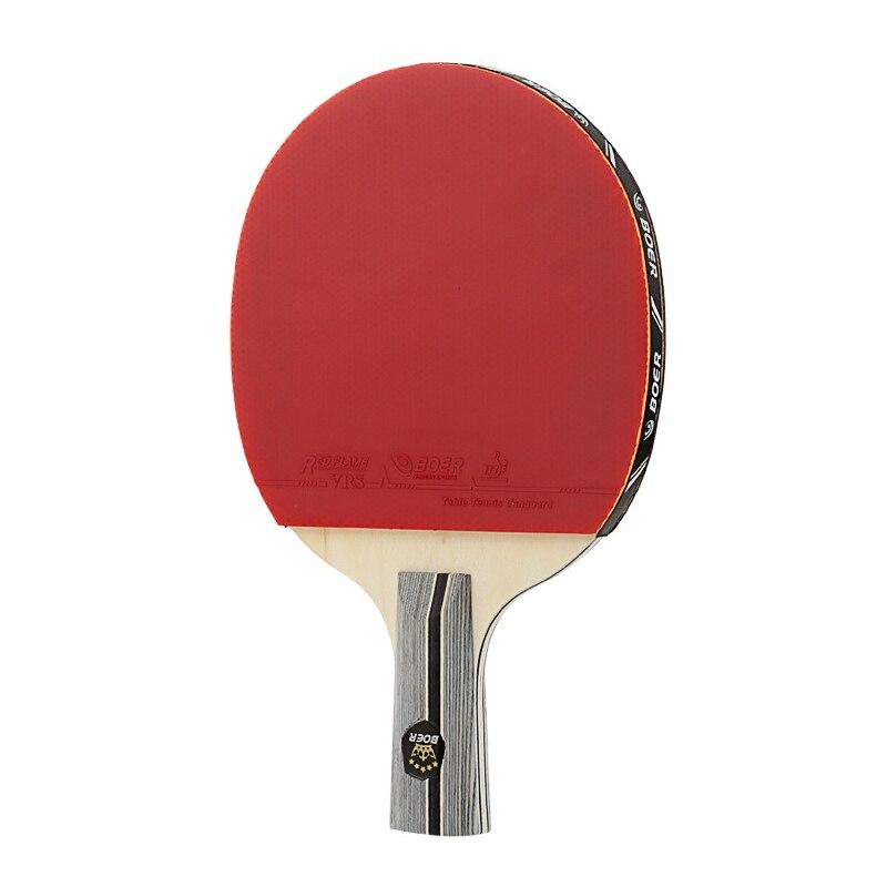 Lightweight Strong Table Tennis Bat Long Straight Horizontal Grip Training Accessories Table Tennis Racket NEW!