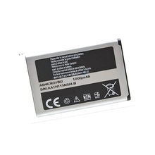 Batterie pour Samsung Blade, 1000mAh AB463651BC AB463651BE AB463651BEC AB463651BU, Chat 322 Genio QWERTY Glamour S7070