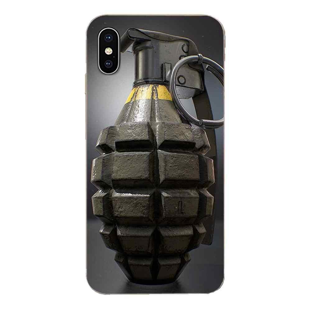 אוהדי צבא נשק רימוני עיצוב לגלקסי J1 J2 J3 J330 J4 J5 J6 J7 J730 J8 2015 2016 2017 2018 מיני פרו רך TPU מקרי הטוב ביותר