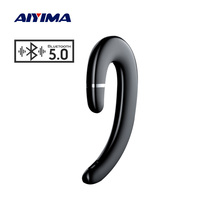 AIYIMA Wireless Headphone Waterproof Bluetooth 5.0 Bone Conduction Earphone Ear Hook Painless Headse