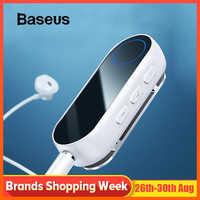 Transmisor Bluetooth Baseus receptor inalámbrico de Bluetooth para auriculares altavoz 3,5 Aux receptor Adaptador de Audio Bluetooth