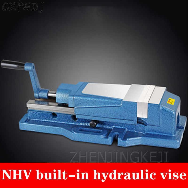 NHV-130A плоские тиски верстак 5 дюймов 6 дюймов Встроенный ПРЕЦИЗИОННЫЙ гидравлический тиски NHV станок обрабатывающий центр