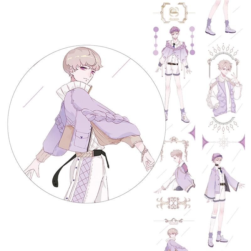Boy Washi Tape Masking Tape Stationery Journal Decoration