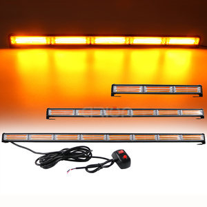 Image 1 - 36W a 144W COB LED del Traffico Consigliere Di Emergenza di Sicurezza di Avvertimento Segnale di Strobe Light Bar Ambra Giallo Rosso Blu per Traino Aratro Camion