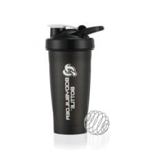 Garrafas de água plásticas do abanador da proteína do gym exterior dos esportes da garrafa do abanador do misturador 600ml/20oz
