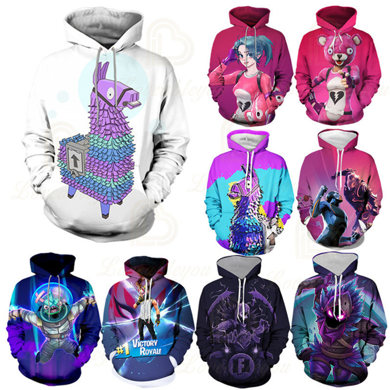 4T - 14T Anime Gaming Vactory Hoodie Unisex 3D Print Streetwear Hip Hop Punk Hoodies Kids Hoodie Men Sweatshirt