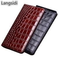 High end genuine real leather magnetic holder phone case for Umidigi One Max/Umidigi One/Umidigi One Pro flip phone cover capa