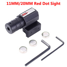 רובה אופטיקה היקף טקטי Riflescope עם Red Dot לייזר Sight 11 MM/20 MM Rail Mounts עבור רובים ציד(China)