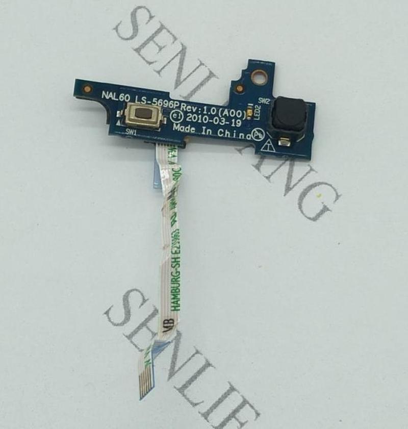 Free Shipping For DELL Latitude E4310 Original Laptop Switch Board Switch Power Board Switch Button Board MAL60 LS-5696P