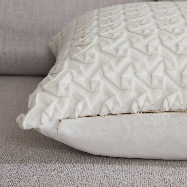 Topfinel Beludru Lembut Sarung Bantal Dekorasi Bantal untuk Sofa Persegi Lucu Elegan Bantal Kecil