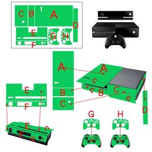 Image 2 - Skullออกแบบสติกเกอร์ผิวสำหรับMicrosoft Xbox Oneป้องกันไวนิลสติกเกอร์สำหรับXbox One Console ControleผิวสำหรับXbox One
