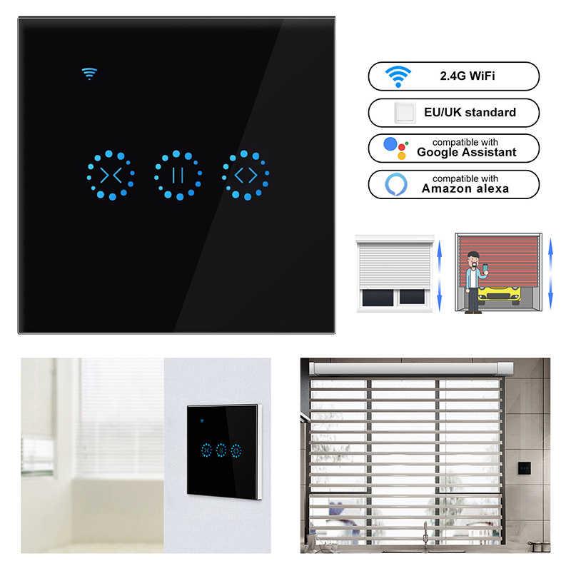 Wifi Smart Tirai Switch Smart Hidup Tuya untuk Electric Motorized Curtain Blind Roller Rana Bekerja dengan Alexa dan Google Home