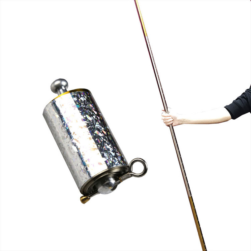 1/2pcs magic Pocket Bo Staff Collapsible That Fits In Your Metal Martial Arts Party Magic Prop Mtg Sets