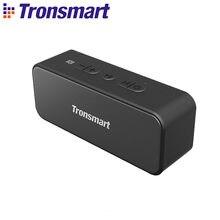Tronsmart-Altavoz bluetooth 5.0 T2 Plus, reproductor de música cilíndrico portátil con resistencia al agua IPX7, entrada para tarjeta micro SD, asistente de voz, TWS, 20W