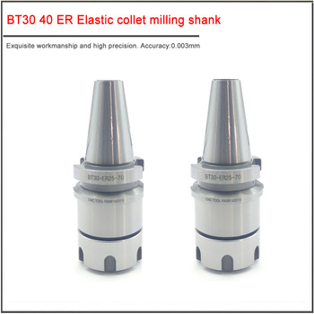 1PCS BT30 BT40-ER16 ER20 ER25 ER32 Collet Chuck holder CNC Machining Center Keyway High Speed BT30 BT40 CNC Tool Holder new 1pcs c3 4 er32 1 38l collet chuck holder cnc milling and 1pcs wrench
