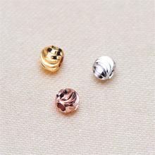 Шарики разделители 3 мм металлические круглые бусины россыпью
