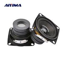 AIYIMA 2Pcs 2 Inch 휴대용 스피커 드라이버 4 8 옴 10W 전체 범위 사운드 스피커 앰프 홈 시어터 DIY