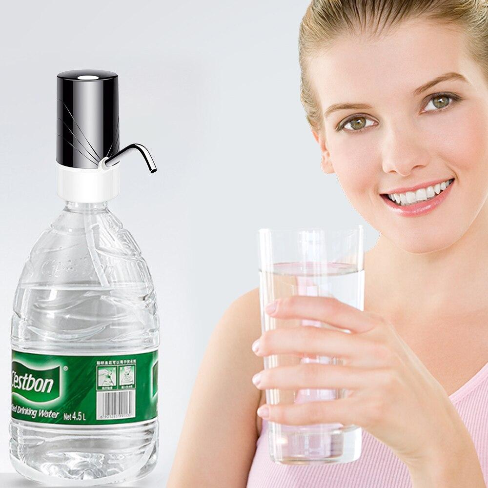 Бытовой автоматический Электрический водяной насос Кнопка диспенсер галлон бутылка питьевой переключатель для воды Насосное устройство 3 ...