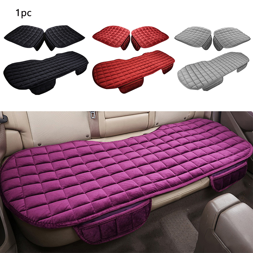 Image 3 - Car Front Rear Universal Seat Cover Winter Warm Black Seat Cushion Anti Slip Rear Back Chair Seat Pad For Vehicle Auto Protector-in Automobiles Seat Covers from Automobiles & Motorcycles
